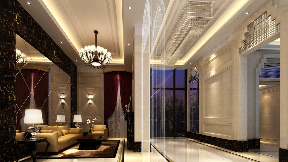 Hotels interior decorations services